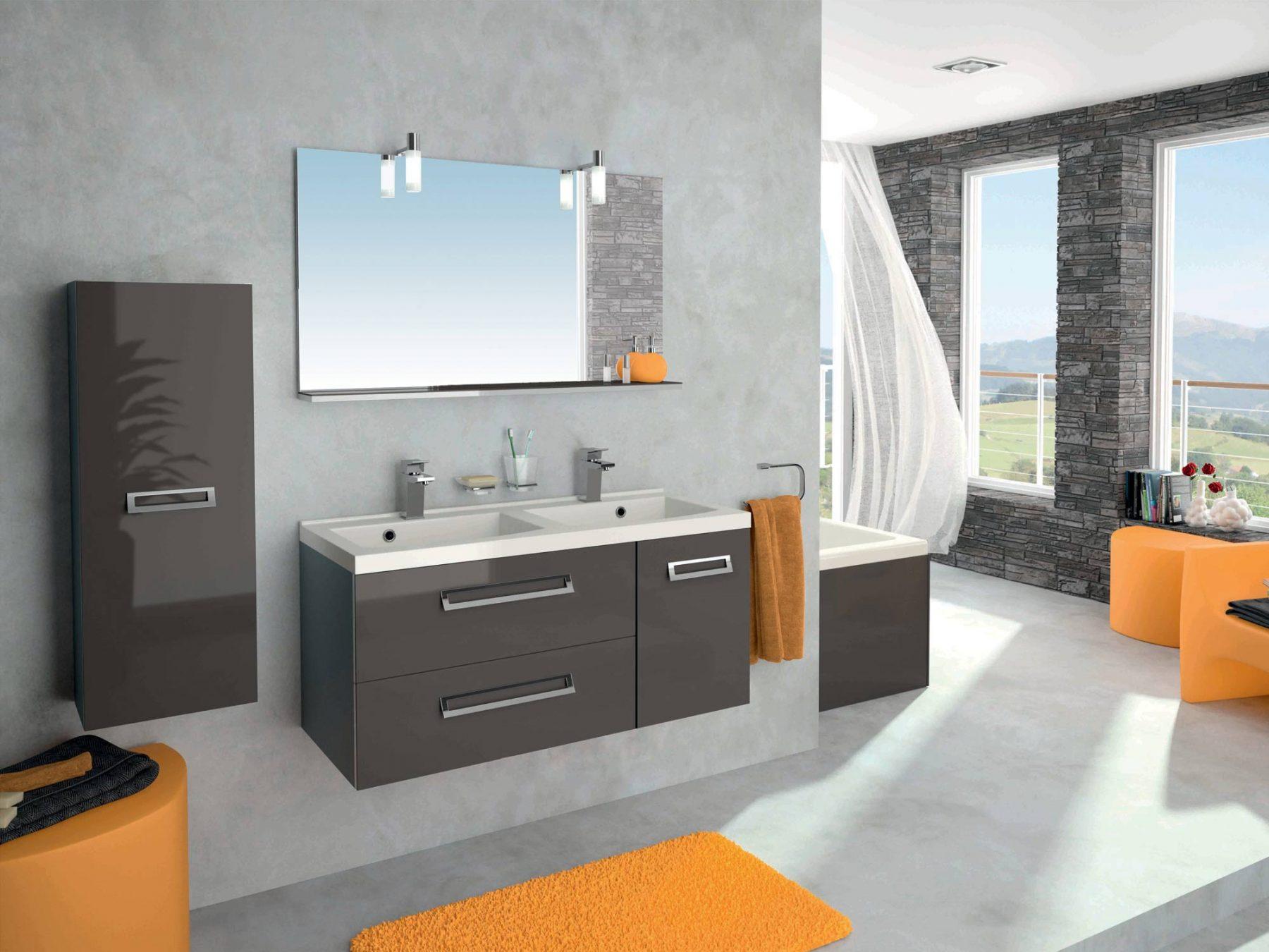 meuble de salle de bain murano allibert. Black Bedroom Furniture Sets. Home Design Ideas