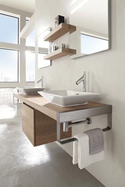 Porte-serviettes pour salle de bains PARALLEL de Jacob Delafon