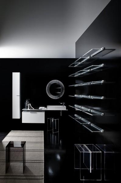 Tablettes pour salle de bains KARTELL BY LAUFEN