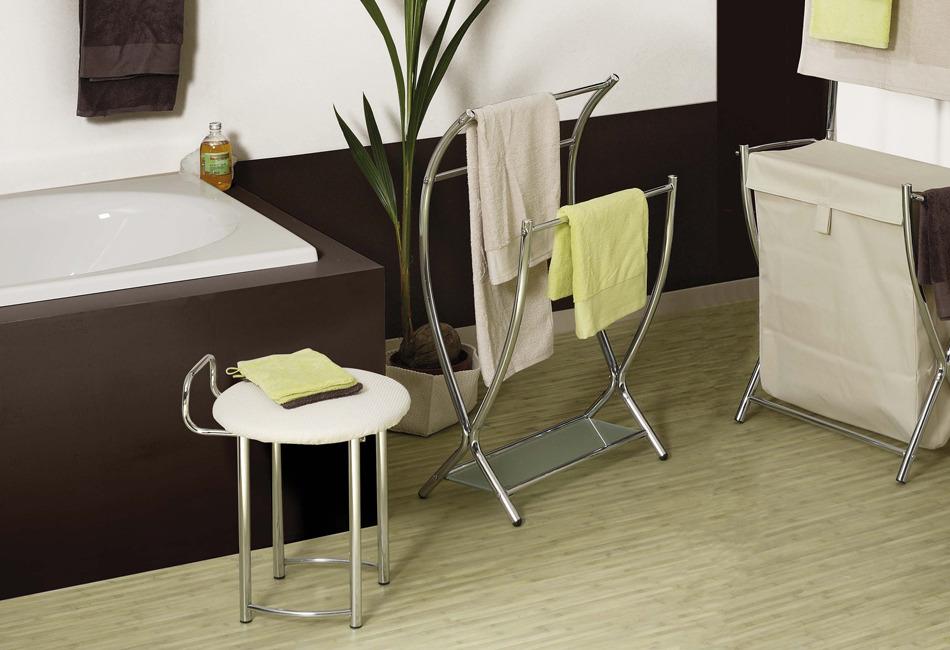 Tabouret pour salle de bains SPIRIT d\'Allibert | Salledebains.fr