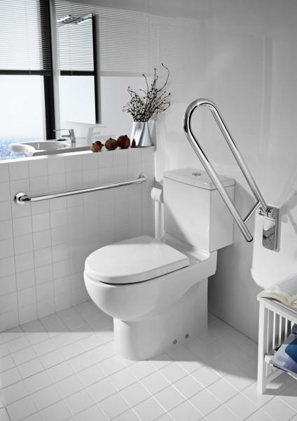 Accessoire accessible de la salle de bains les poign es de relevage - Poignee de porte a relevage ...