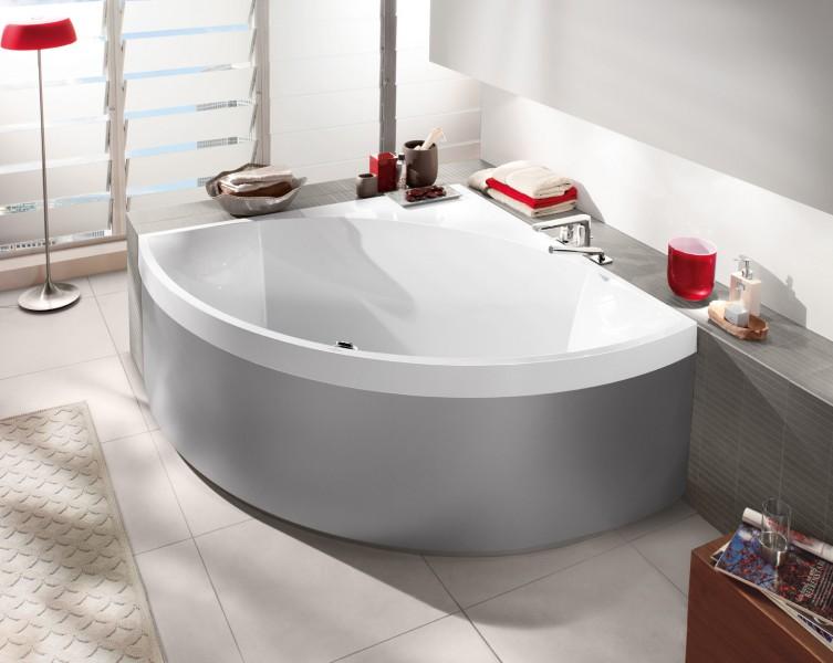 Fiche produit sdb baignoire asym trique et d 39 angle for Villeroy et boch salle de bain showroom