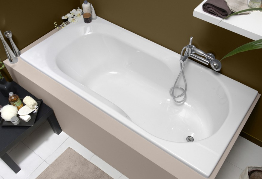 Baignoire bain-douche pour salle de bains TWINSIDE Aquarine