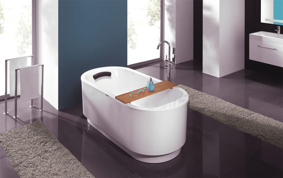 Baignoire en îlot pour salle de bains FREELINE de Leda