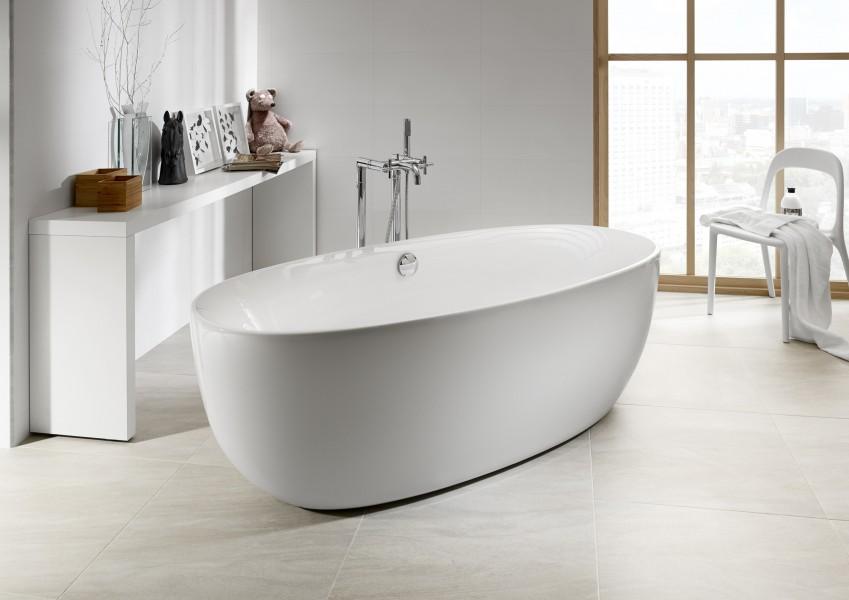 Baignoire en îlot pour salle de bains VIRGINIA de Roca