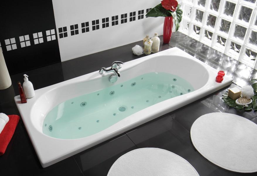 Baignoire balnéothérapie pour salle de bains INOA LUXZEN d'Allibert