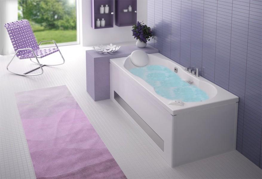 Baignoire balnéothérapie pour salle de bains ROMANZA de Grandform