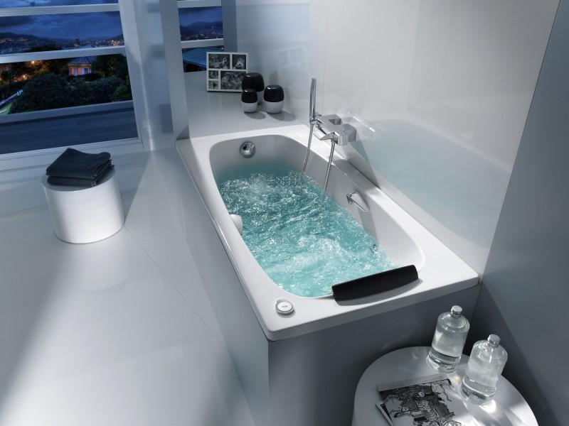 Baignoire balnéothérapie pour salle de bains SURESTE de Roca