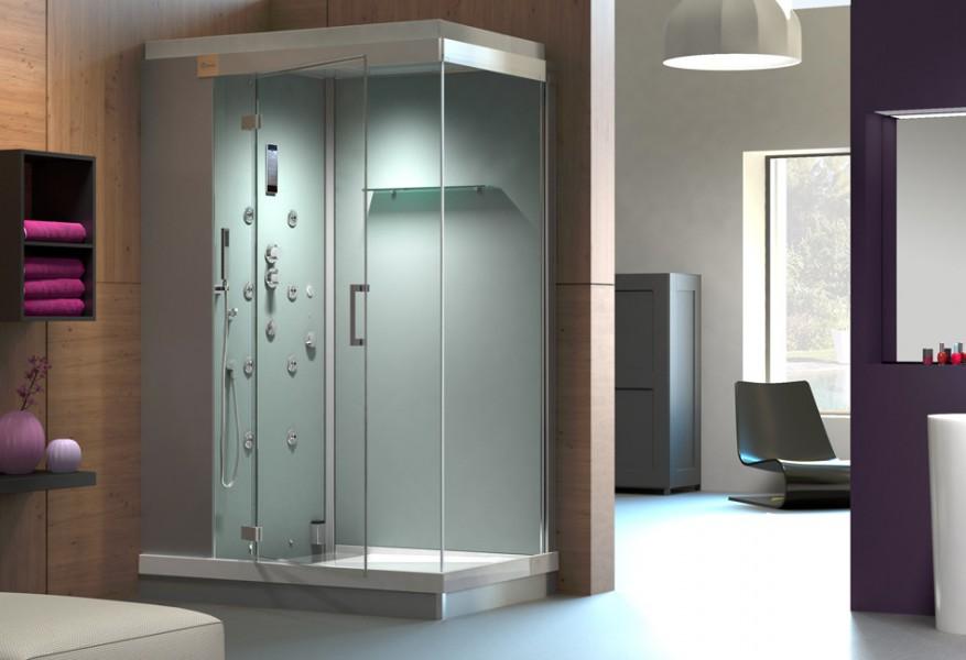 Cabine de douche multifonctions pour salle de bains KINEJET de Kinedo