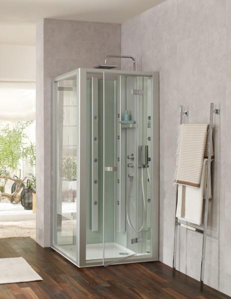 Cabine de douche multifonctions pour salle de bains PLURIEL de Leda