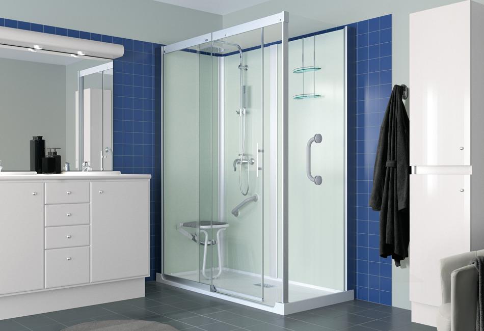 Fiche produit de sdb cabines remplacement de baignoire - Cabine douche baignoire ...