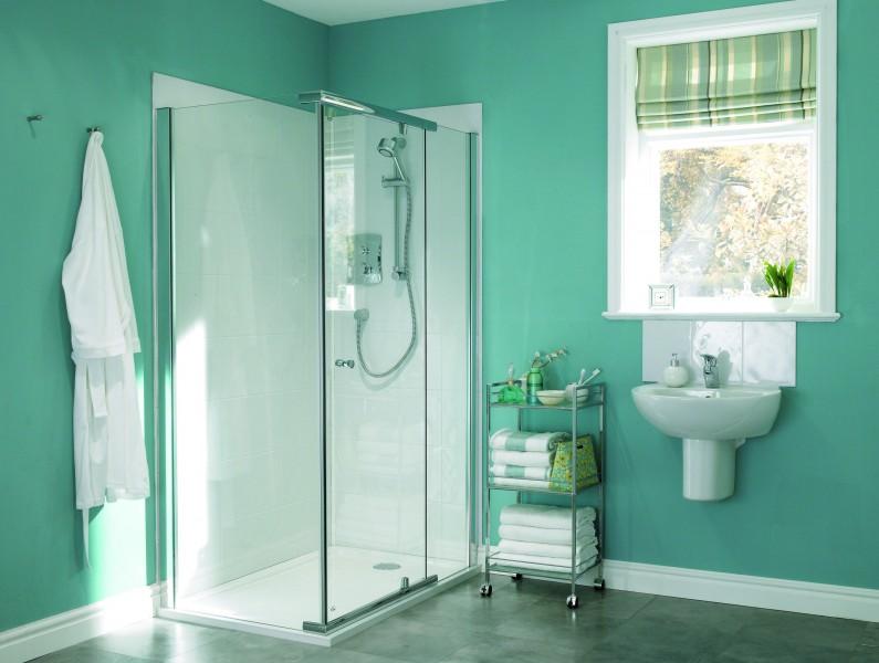 Fiche produit sdb panneaux muraux fond de douche - Revetements muraux pour salle de bain ...