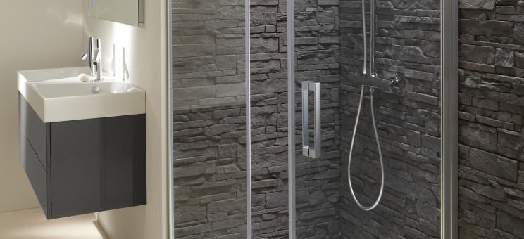 Paroi de douche battante pour salle de bains contra de jacob delafon - Paroi de douche jacob delafon ...