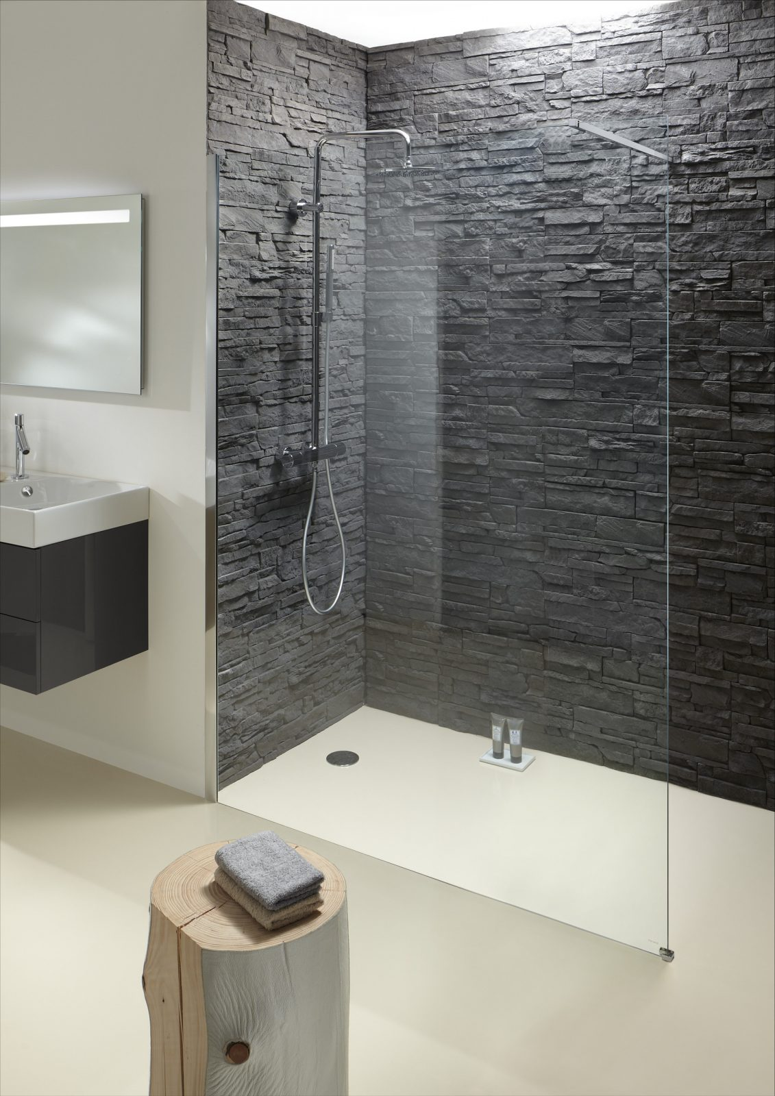 fiche produit de la salle de bains parois de douche. Black Bedroom Furniture Sets. Home Design Ideas