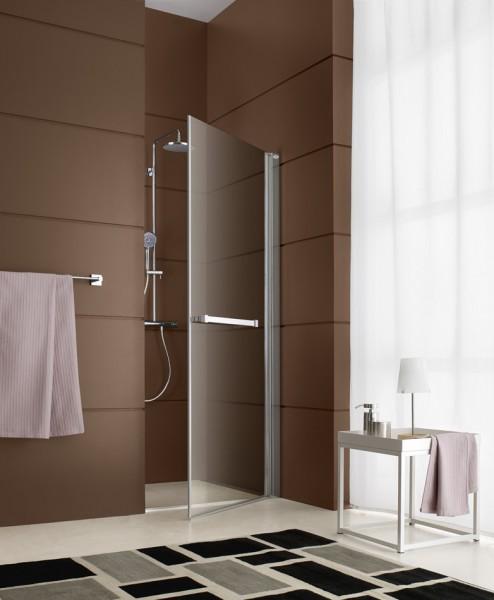 Paroi de douche pivotante pour salle de bains DJANGO de Leda
