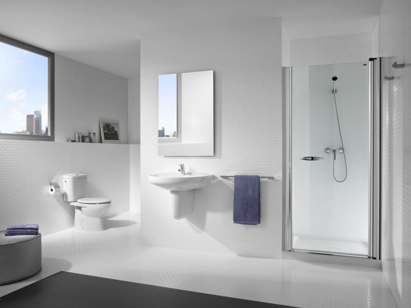 Paroi de douche pivotante pour salle de bains VICTORIA de Roca