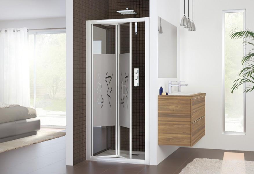 fiche produit paroi de douche porte pliante. Black Bedroom Furniture Sets. Home Design Ideas