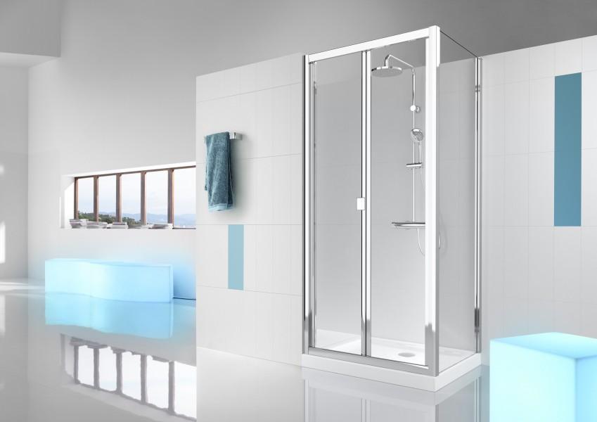 Paroi de douche pliante pour salle de bains VICTORIA de Roca