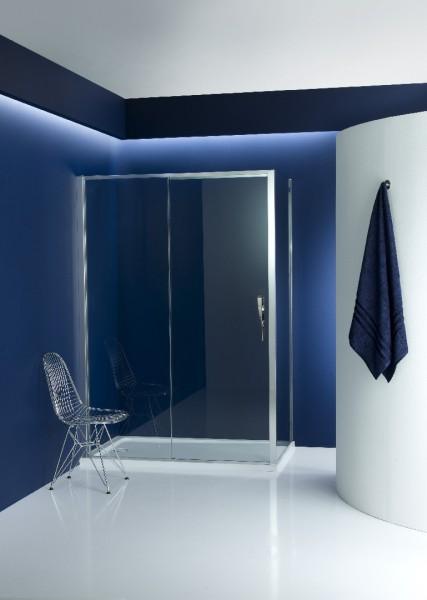 Porte coulissante de paroi de douche TORSION de Jacob Delafon salle de bains