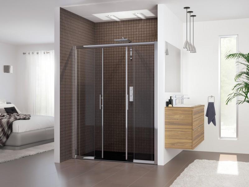 Porte coulissante de paroi de douche CLASSIC de Kinedo salle de bains