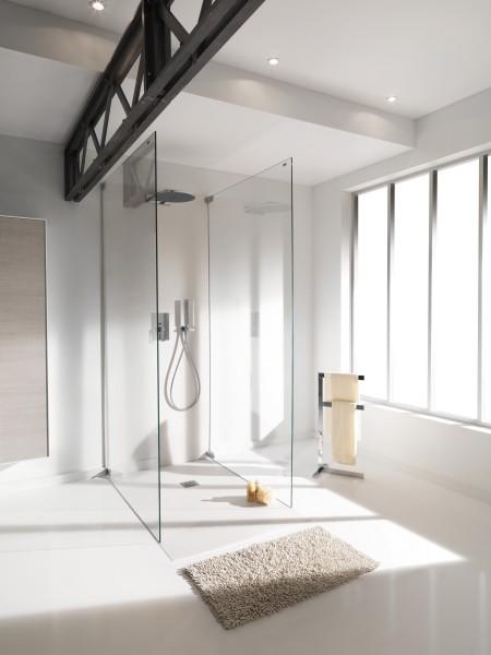 Receveur de douche à encastrer pour salle de bains ZB DECK d'Ambiance Bain