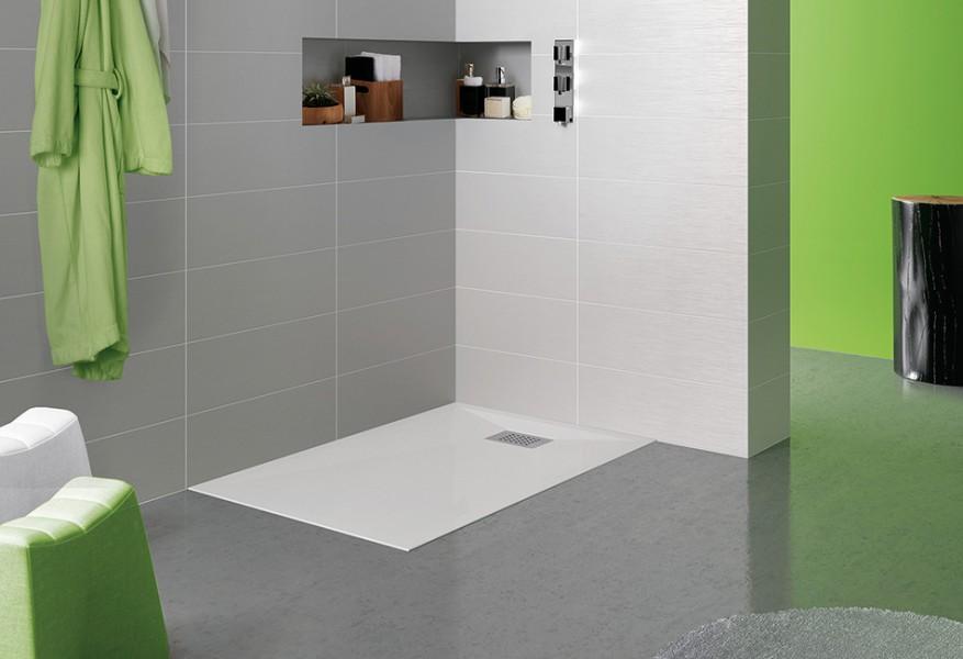 Receveur de douche à encastrer pour salle de bains KINESURF EB de Kinedo