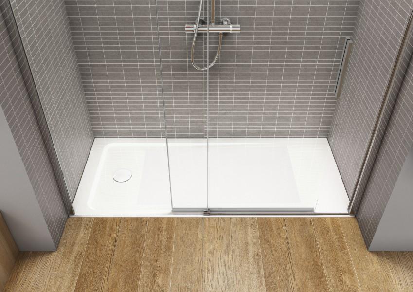 Receveur de douche à encastrer pour salle de bains NEO DAIQUIRI de Roca