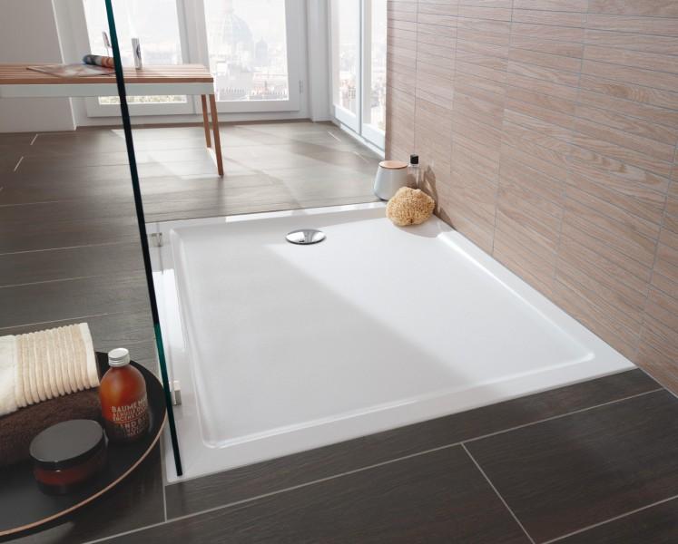 Receveur de douche à encastrer pour salle de bains SUBWAY 2.0 de Villeroy & Boch