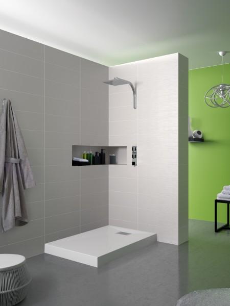 Receveur de douche à poser pour salle de bains KINECOMPACT BCL de Kinedo
