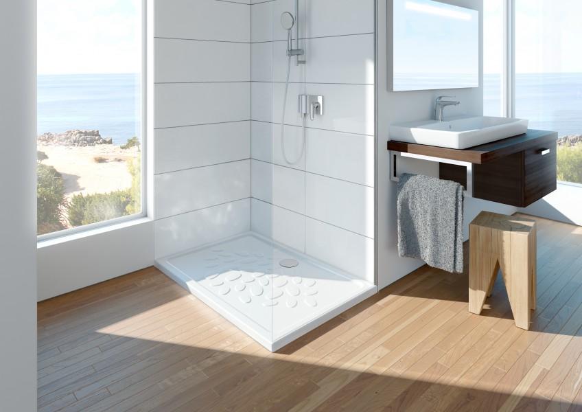 Receveur de douche à poser pour salle de bains OCEAN VitrA