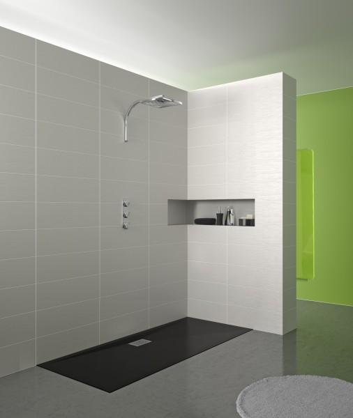 Receveur de douche extraplat pour salle de bains KINESURF de Kinedo