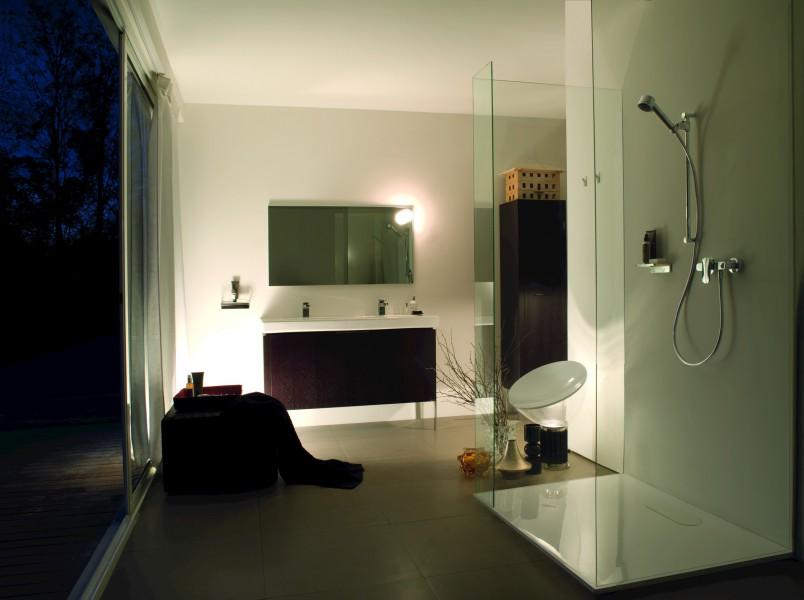 Receveur de douche extraplat pour salle de bains IB3 de Laufen