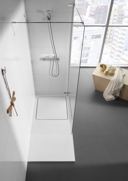 Receveur de douche extraplat pour salle de bains GLACE de Roca