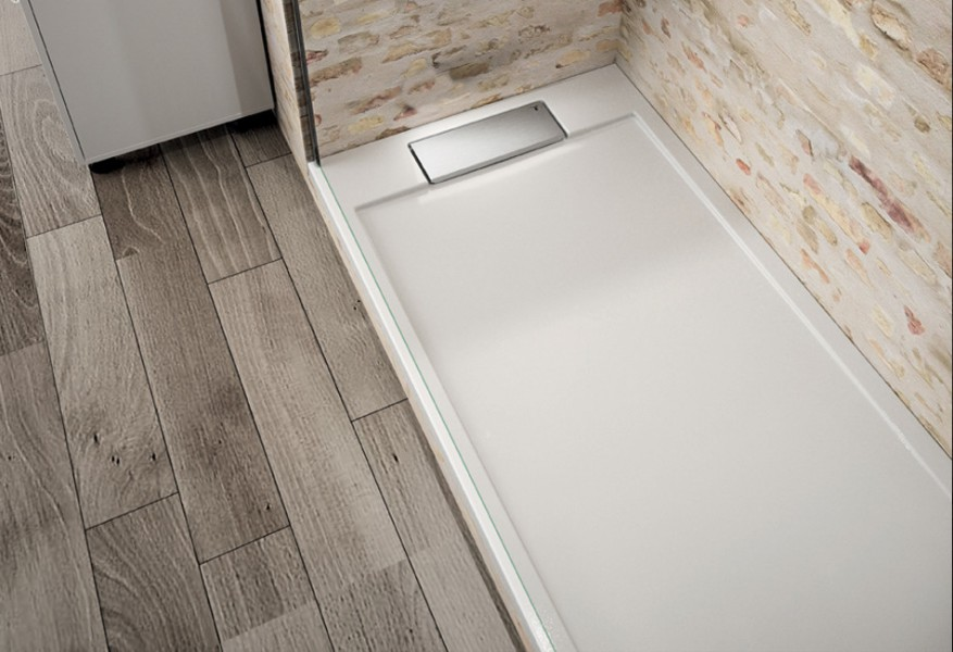 Fiche produit de sdb receveur de douche grand format for Grand receveur de douche