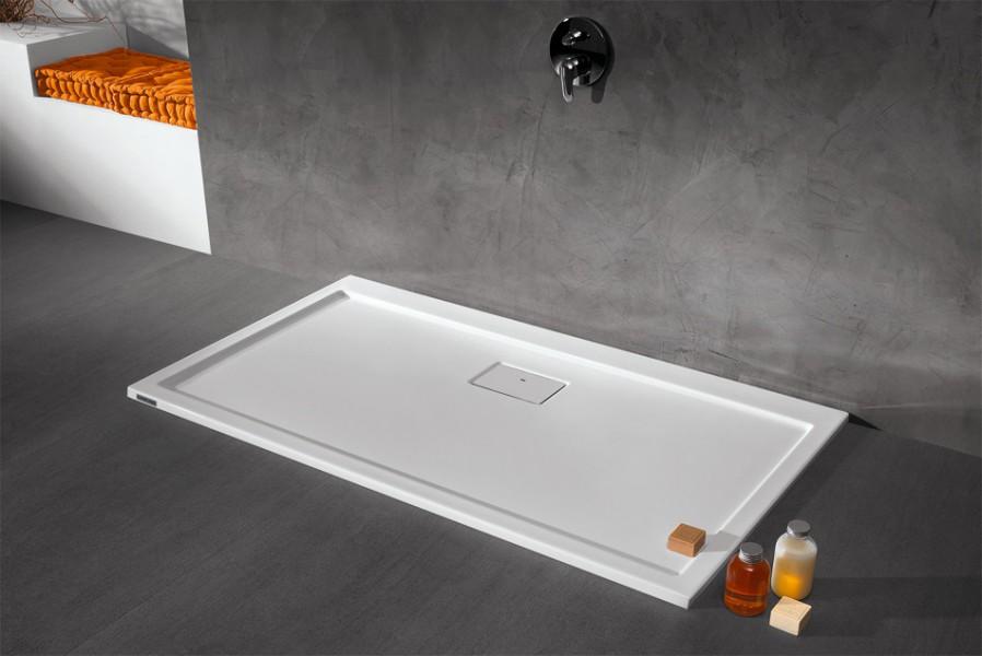 Receveur de douche grand format SPACELINE de Leda salle de bains