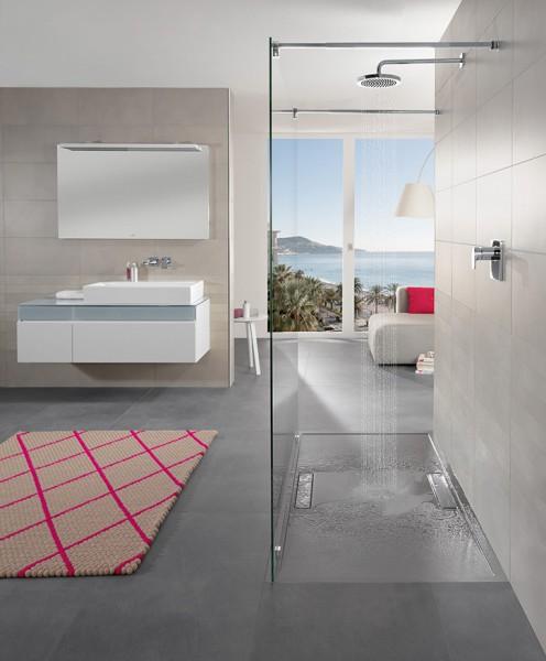Receveur de douche grand format SQUARO de Villeroy & Boch salle de bains