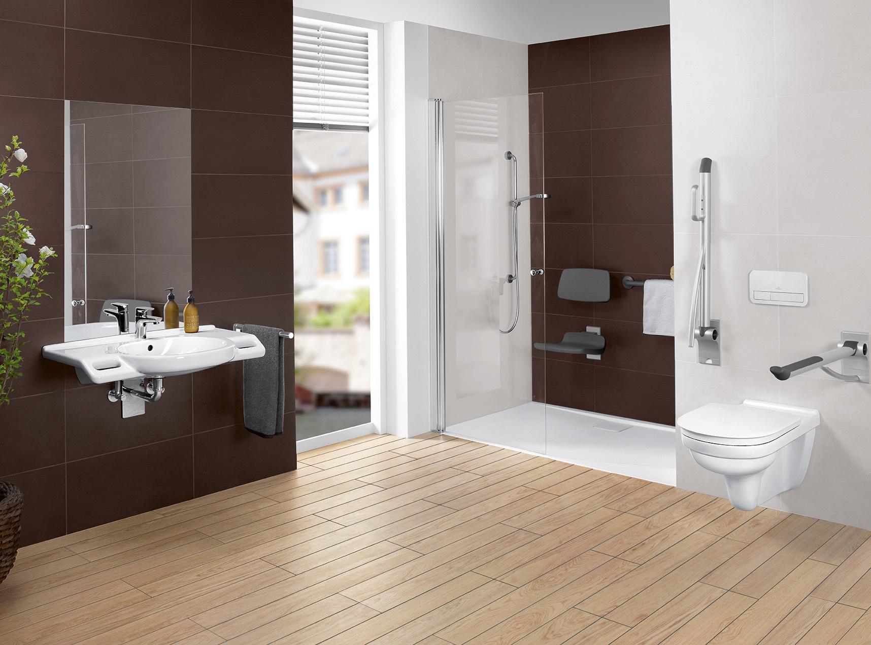 Salle De Bain Accessible ~ receveur de douche accessible pour salle de bains metalrim de