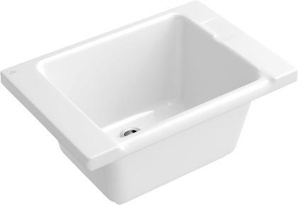 Bac à laver pour collectivité O.NOVO de Villeroy & Boch salle de bains