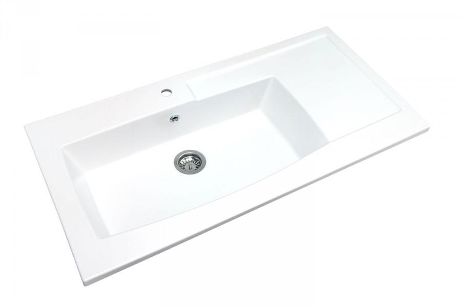 Evier à encastrer par-dessus BYBLOS d'Alape salle de bains