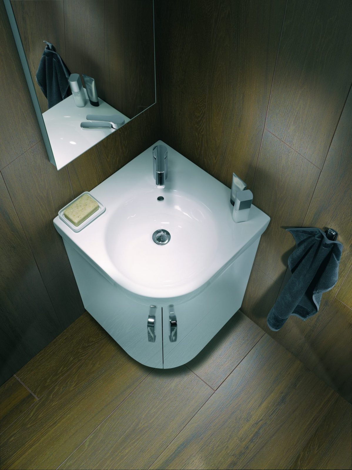 Vasque D Angle De Salle De Bain lavabo d'angle salle de bains prima style allia