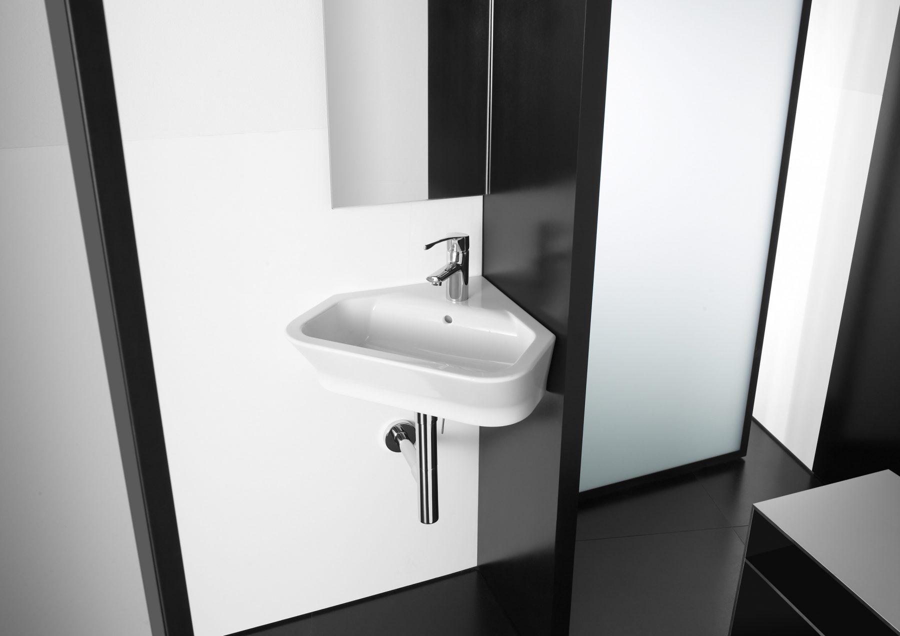 lavabos d 39 angle de salle de bain fiche produit. Black Bedroom Furniture Sets. Home Design Ideas
