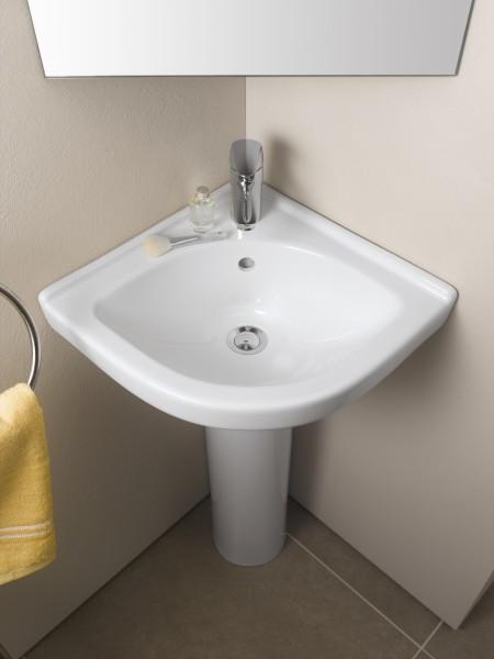 Lavabos d 39 angle de salle de bain fiche produit - Grand lavabo d angle ...