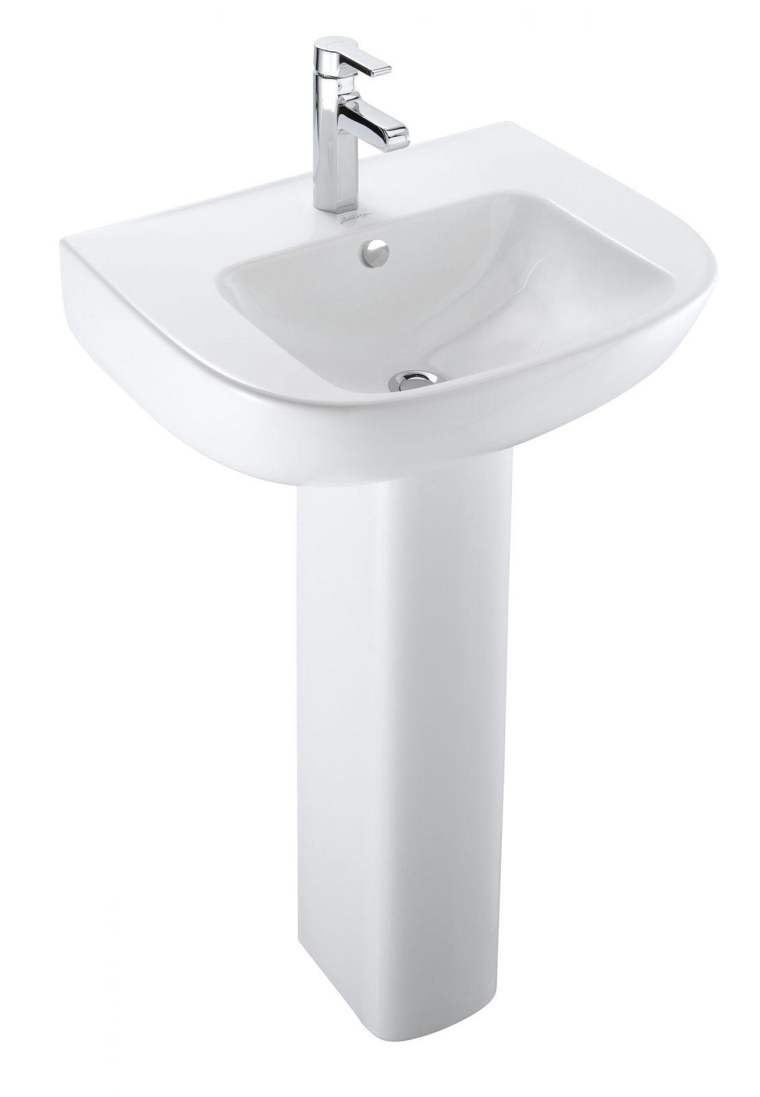 Lavabo colonne dans la salle de bains fiche produits for Colonne de salle de bain jacob delafon