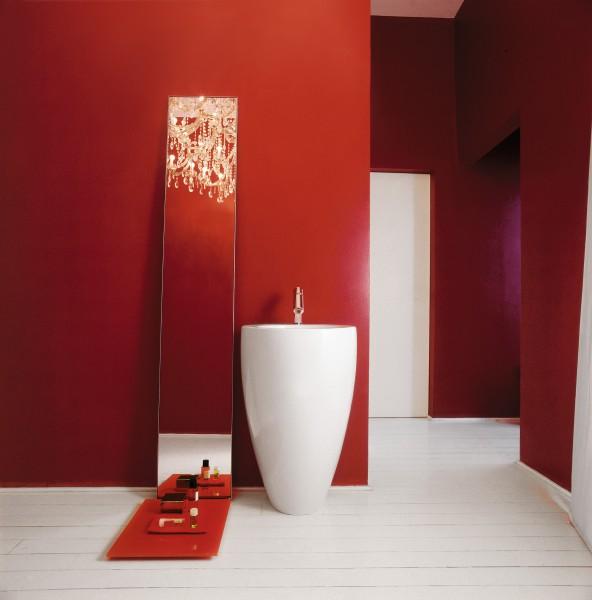 Lavabo colonne pour salle de bains ILBAGNOALESSI ONE de Laufen