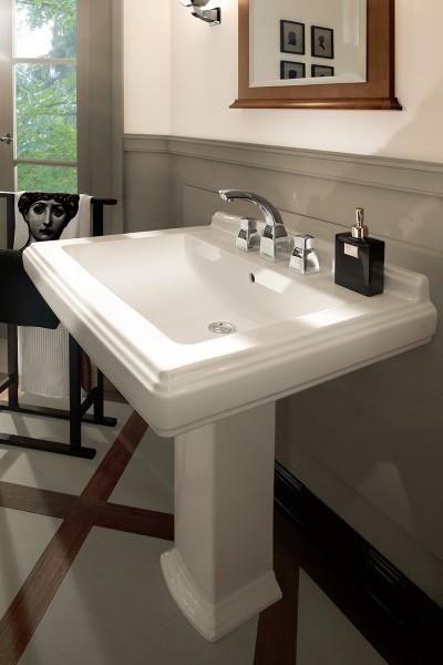 Lavabo colonne pour salle de bains HOMMAGE de Villeroy & Boch