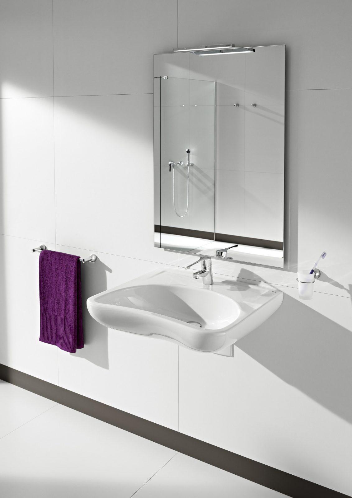 lavabo accessible de salle de bain fiche produit. Black Bedroom Furniture Sets. Home Design Ideas