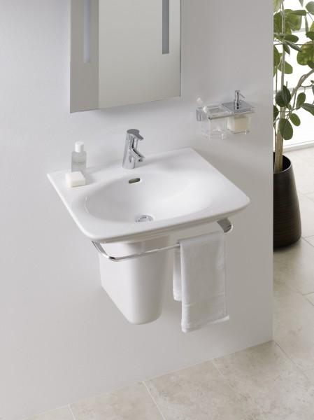 Lave-mains cache siphon PALACE de Laufen salle de bains