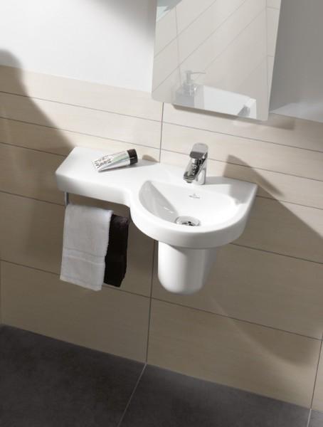 Lave-mains cache siphon SUBWAY 2.0 de Villeroy & Boch salle de bains