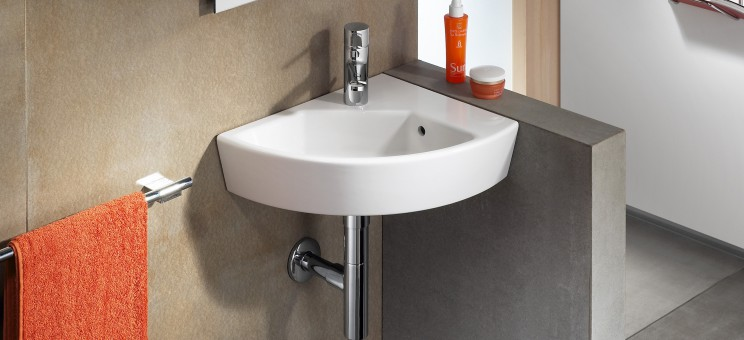lavabo lave mains d 39 angle hall de roca salle de bains. Black Bedroom Furniture Sets. Home Design Ideas