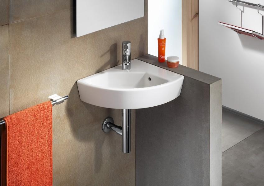 Lavabo lave-mains d'angle HALL de Roca salle de bains